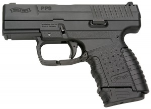 Left isde view of Walther PPS 9mm