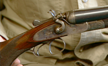 Steve Fjestad discusses the features and value of a pre-WWI German 16-gauge side-by-side shotgun.