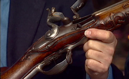 Garry James and Steve Fjestad discuss the features and value of the German Jaeger hunting rifle