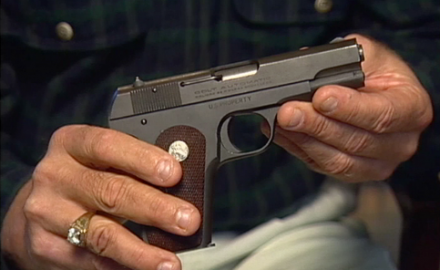 Senior Editor Garry James and Steve Fjestad discuss the value of a beautiful Colt 1903 Model M