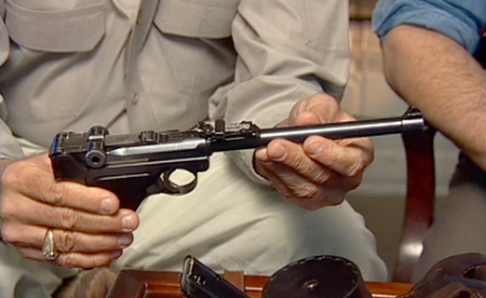 Garry James and Steve Fjestad discuss the features and value of a great military pistol of the past, the WWI Artillery Luger.