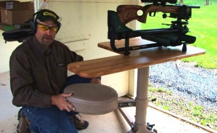 Jim Gianladis demonstrates the new Caldwell BR Pivot and how it can help you be a better shooter.