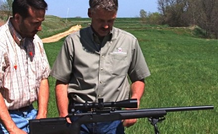 Thompson Center talks tactical about the newest Icon rifle model.