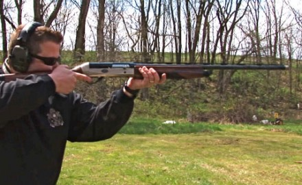 Gun review video on Benelli Legacy Sport 12 gauge w/ Cryo Barrel.
