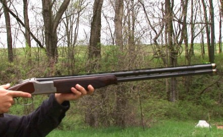 Gun review video on Browning Citori.