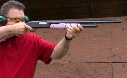 Gun review video on Mossberg 500 SuperBantam 20 gauge.