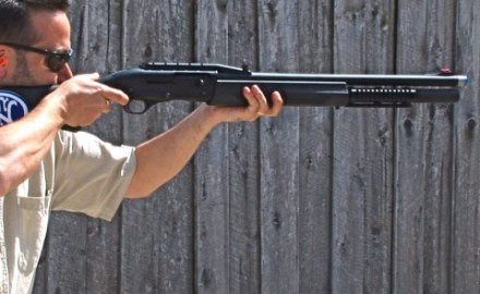 Gun review video on FN SLP 12 gauge.