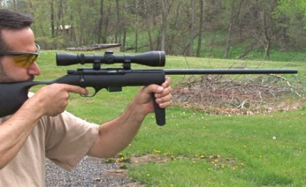 Gun review video on Mossberg 817.