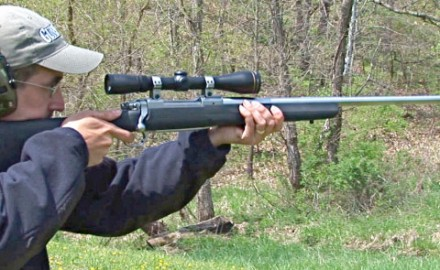 Gun review video on Ruger M77 .300 Winchester Magnum w/ Blackhawk Comstock.
