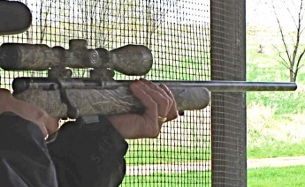 Gun review video on Savage 93 .17 HMR w/ Simmons 3-9x40 Blazer Scope.