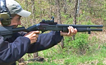Gun review video on Remington 870 w/ Blackhawk Stock.