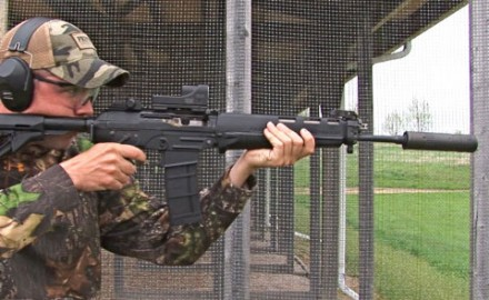 Gun review video on Sig Sauer 556 .556x45mm.
