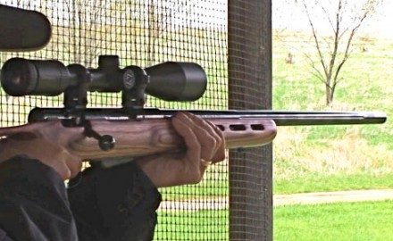 Gun review video on Savage 25 .223 Remington w/ Zeiss Conquest 4.5-14x44 Scope.