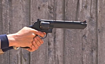 Gun review video on Smith & Wesson 629 .44 Magnum.