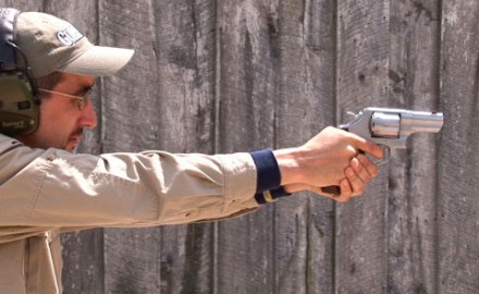 Gun review video on Smith & Wesson 629-6 .44 Magnum.