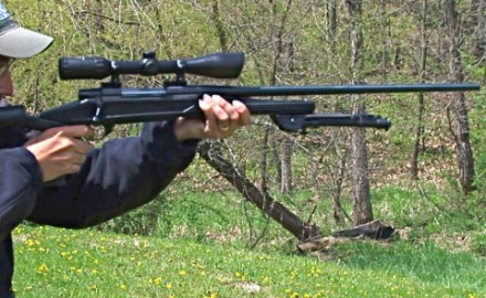 Gun review video on Howa 1500 .300 Winchester Mag w/ Blackhawk Axiom Stock.