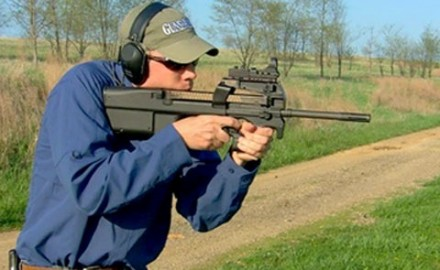 We review the civilian version of the FNH P90, the FNH PS-90 5.75 Carbine that came out of a NATO
