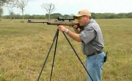 Greg Rodriguez shares tips on how to make the most of shooting off of shooting sticks.
