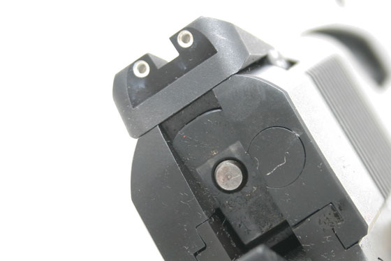 For sights, we selected Heinie Slant-Pro night sights that offer a great sight picture and no snag contour.