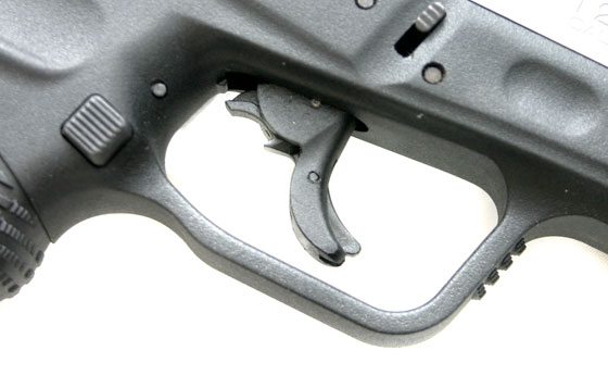 There are passive trigger and firing pin safeties, and both a loaded chamber and cocked pistol indicators. For unloaded storage, the G2 can also be easily key locked.