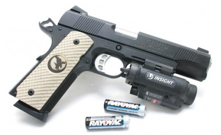 Nighthawk GRP pistol with Insight WL1 AA