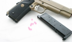 """Airsoft are simply replica """"guns"""" that fire 6mm plastic BBs--usually at about 300 to 350 fps."""