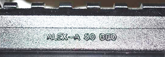 Alexander Arms marked upper receiver