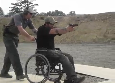 Disabled Shooter