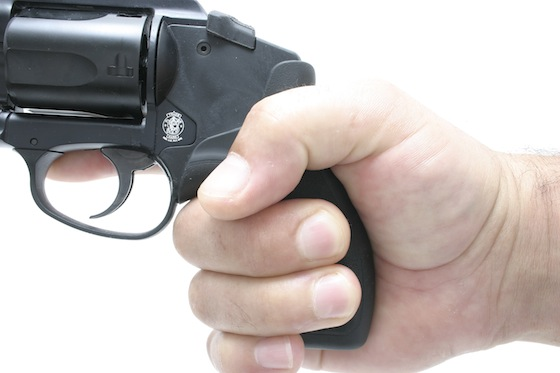 Despite its light weight, the Bodyguard 38 is surprisingly manageable to shoot. Its svelte one-piece hard rubber grip is easy to wrap up tightly for shooters with small to large hands.
