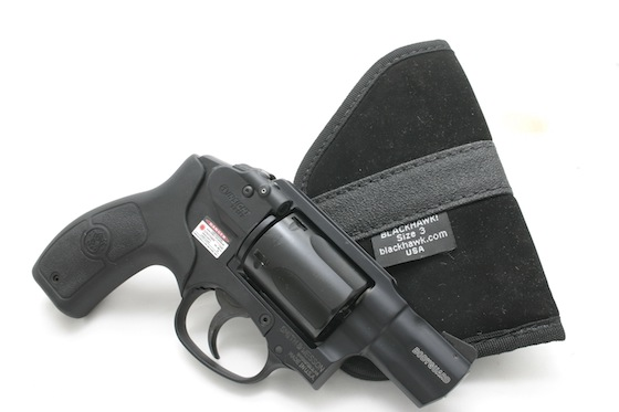 Both the light weight and trim size makes the Bodyguard 38 sweet to carry in a pocket or ankle holster.