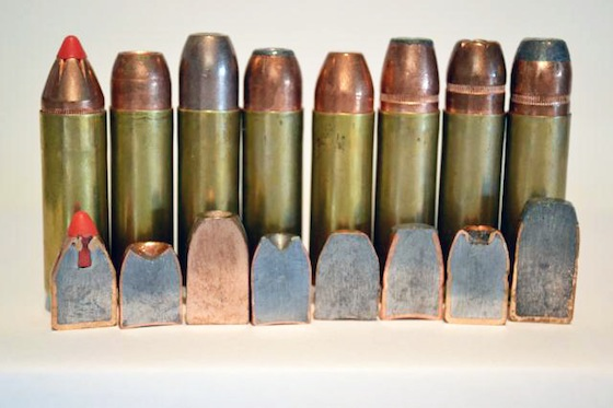19.	The bullets used in the tests are drastically different in construction and offer different performance for different applications.