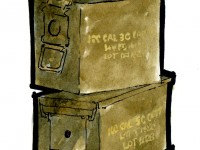 Ammo cans illustration