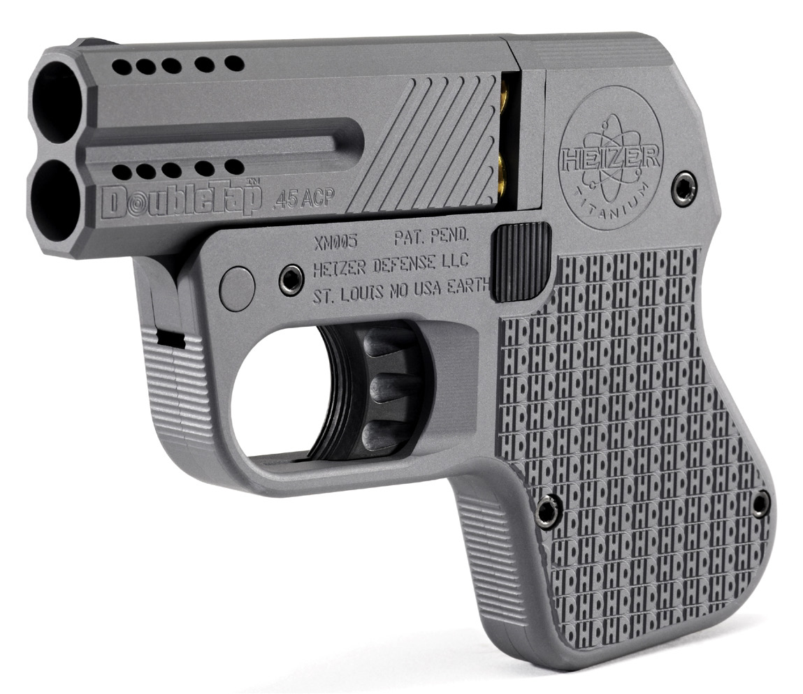 Heizer DoubleTap Pistol - Perfect for Concealed Carry