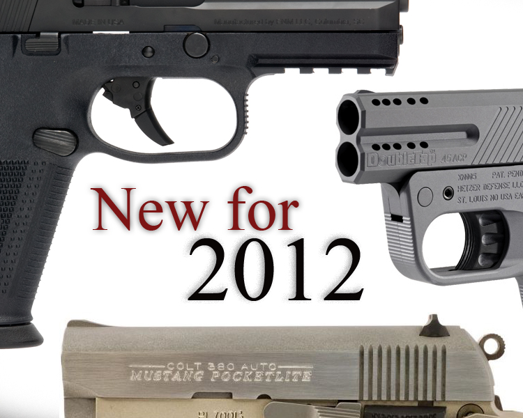 10 New Handguns for 2012 (UPDATED)