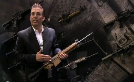 Colt introduced the brand new Colt LE901 assault rifle at SHOT Show 2012 in Las Vegas. Along with