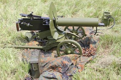 The Maxim machine gun has been No. 1 on my bucket list for years. Invented by Hiram Maxim in the