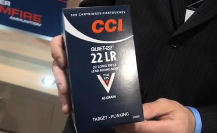 Tim Brandt of CCI Ammunition talks about the brand new CCI Quiet-22 LR ammo. At 710 feet per
