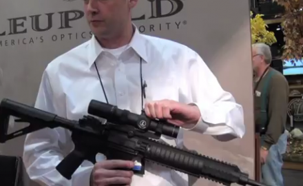 We caught up with Leupold engineer John Snodgrass to take a look at the brand new Leupold Mark 6