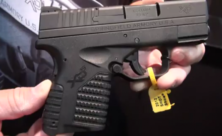 Springfield Armory has made another addition to its line of XD pistols with the brand new