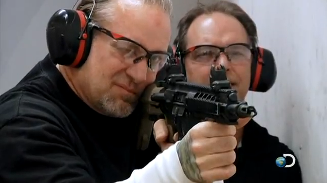 Exclusive Video: Jesse James Hits the Range with the Red Jacket Crew