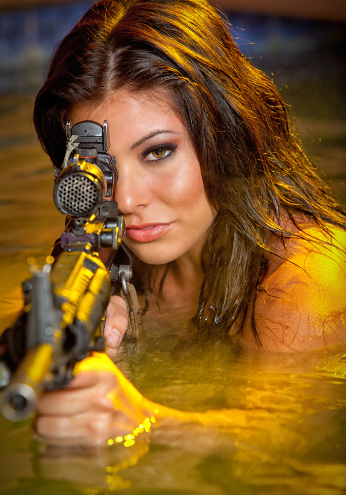 Top Shot's Michelle Viscusi Talks Maxim, Modeling and Guns