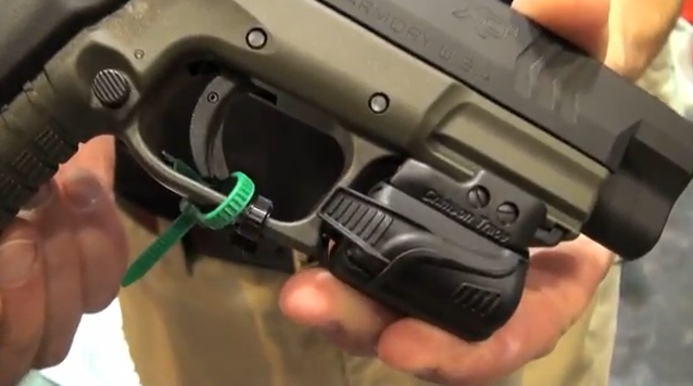 NRA Show 2012: Introducing the Crimson Trace Rail Master and Laser Grip