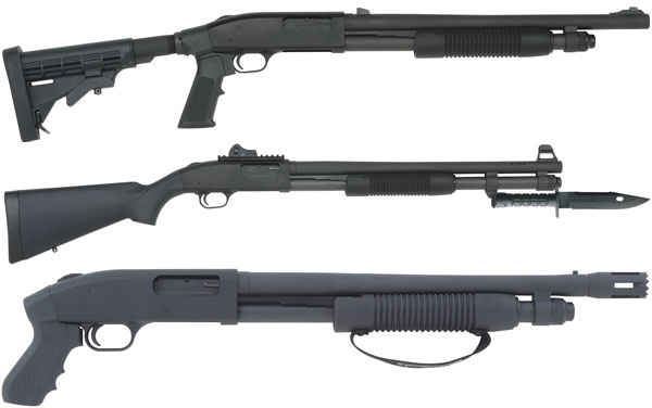 Mossberg 590A1 family picture