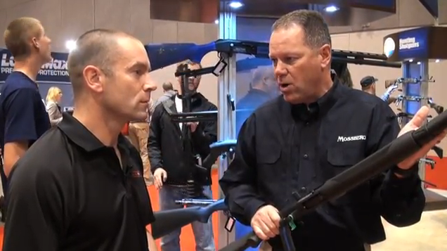 NRA Show 2012: Introducing the Mossberg JM Pro-Series Shotgun