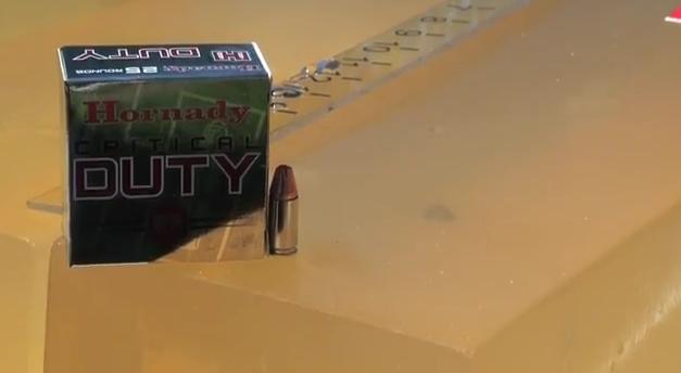 Hornady's Critical Duty Faces the FBI Ammunition Protocol Test