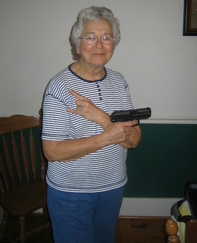 Caption Contest: Granny's Got a Gun