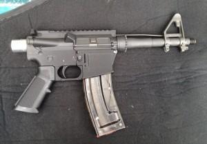 Guslick 22 caliber pistol