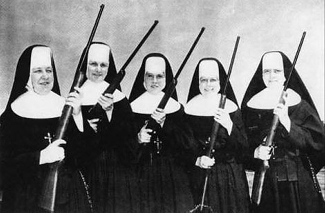 Caption Contest: Nuns with Guns