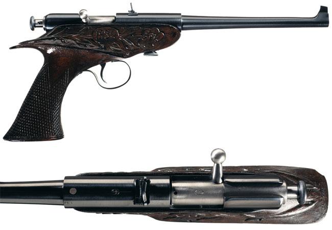Winchester-bolt-action-pistol