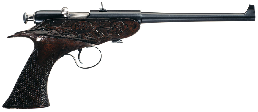 Peculiar Pistol: The Winchester Bolt-Action Pistol